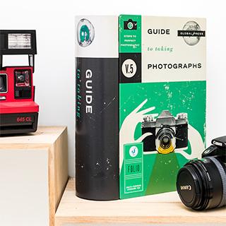 Boîte de rangement livre - Photography