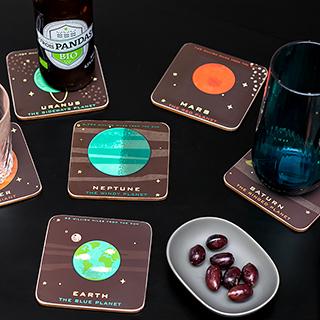 Coaster set - Planetaria
