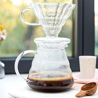 Cafetière en verre - Slow coffee