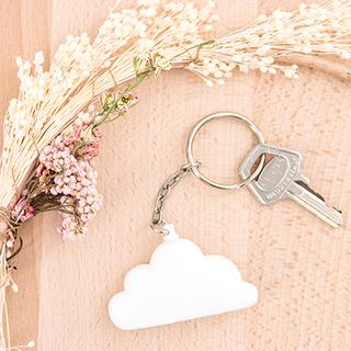 Porte-clé nuage