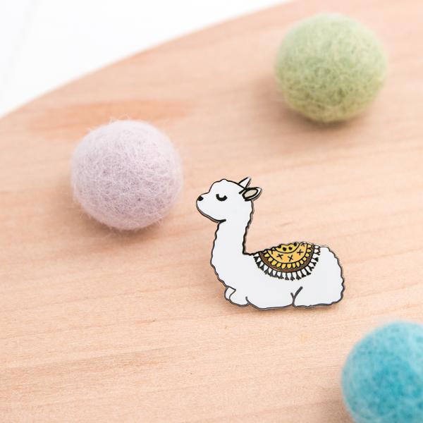 Pin's -  baby llama