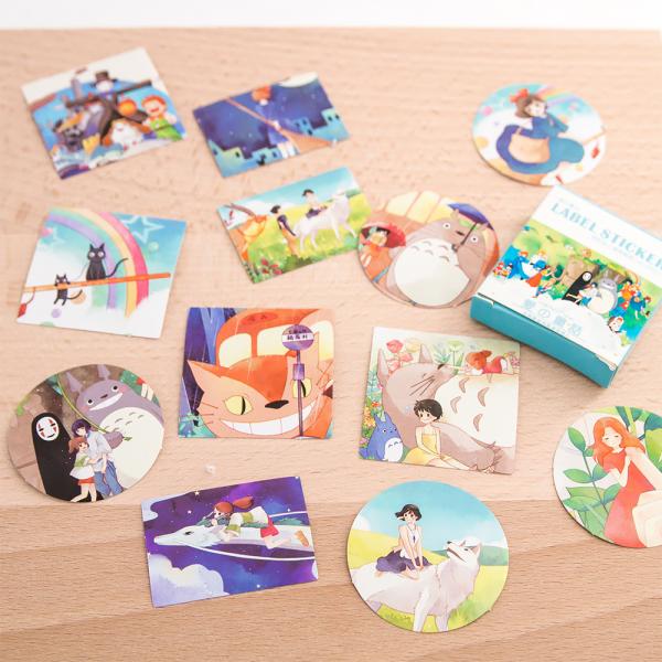 Stickers Ghibli