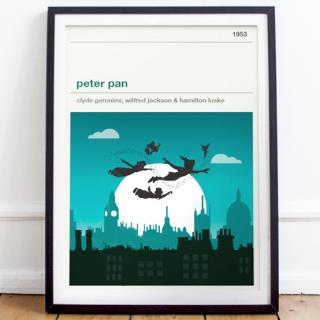 Affiche cinéma - Peter Pan