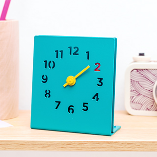 Horloge à poser - Block