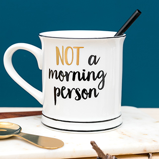 Mug - Not a morning person