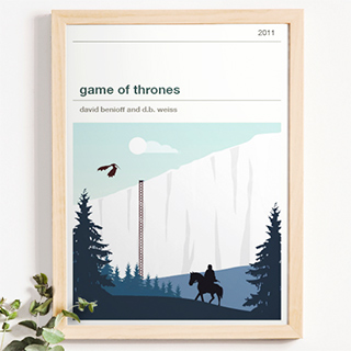 Affiche série - Game of Thrones