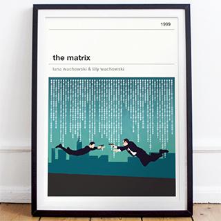 Affiche cinéma - Matrix