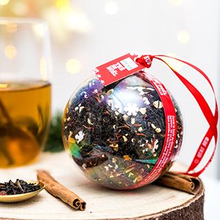 Boule - thé de Noël