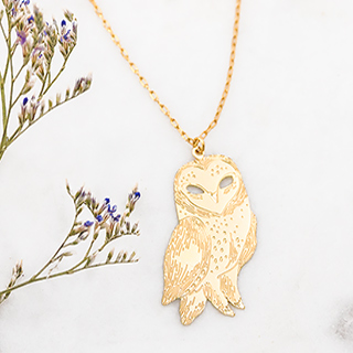 Titlee long necklace - Hedwige