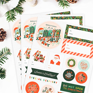 Stickers - Season's greetings
