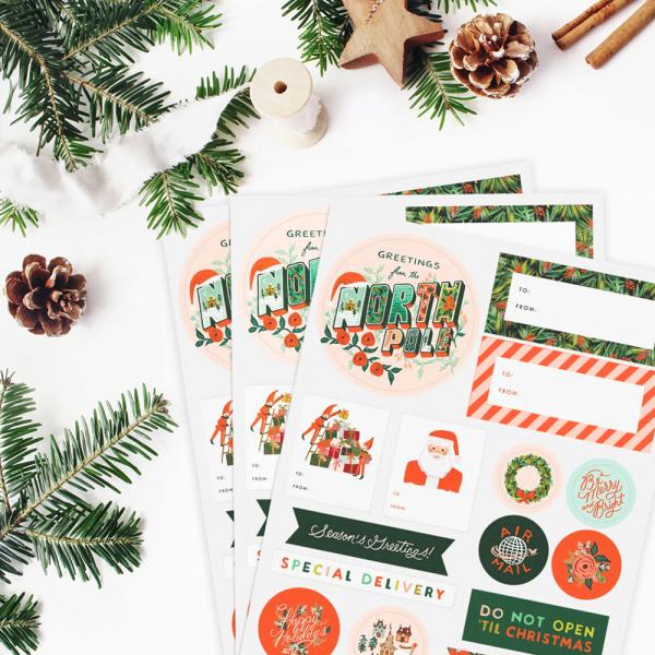 Stickers - Season's greetings