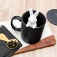 Mug + infuseur - lapin blanc
