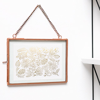 Copper metal frame