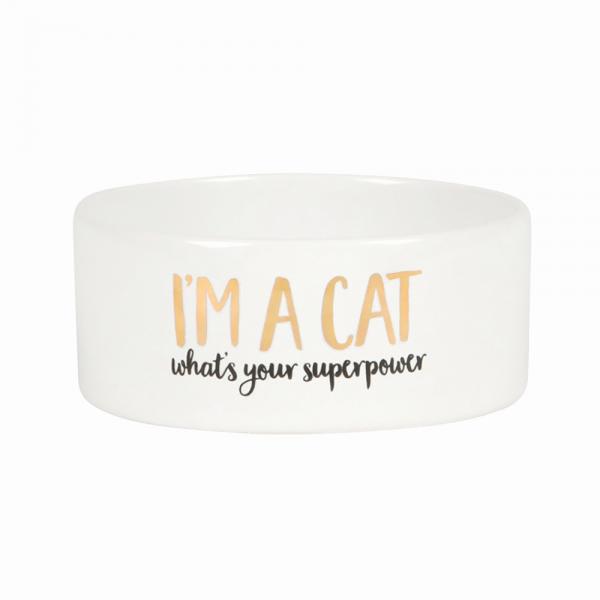 Gamelle pour chat - Super power