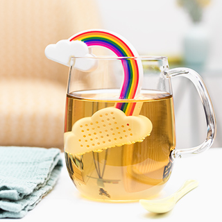Tea infuser - over the rainbow