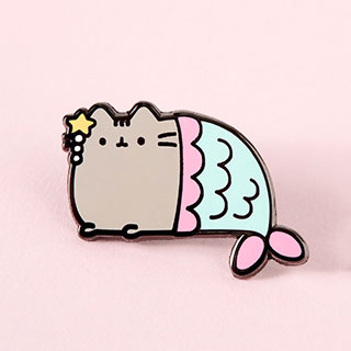 Pin's -  Pusheen mermaid