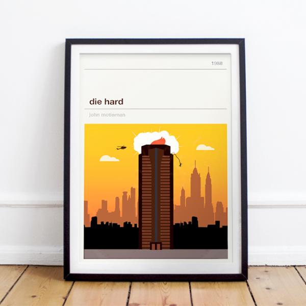 Affiche cinéma - Die Hard