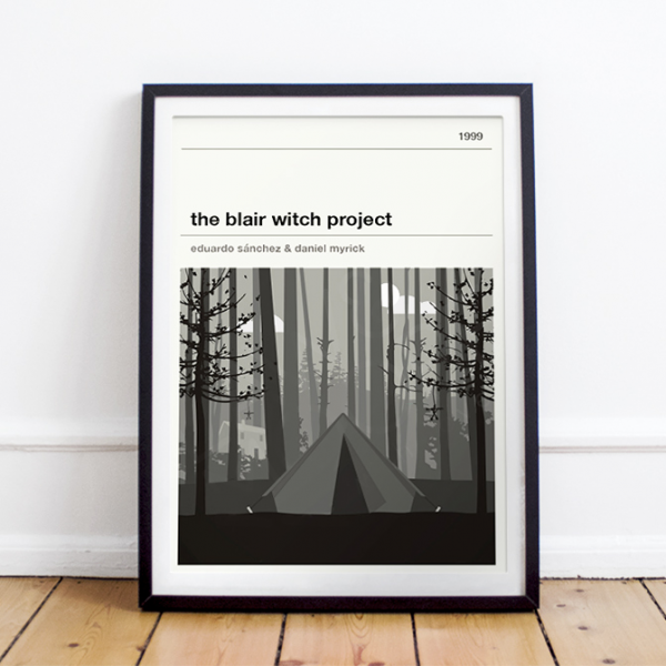 Affiche cinéma - The Blair Witch Project