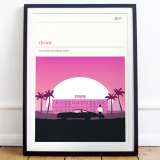 Movie print - Drive