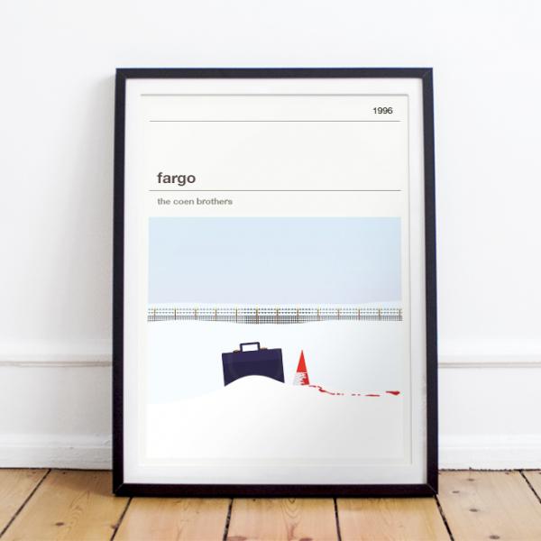 Affiche cinéma - Fargo