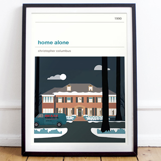 Affiche cinéma - Home Alone