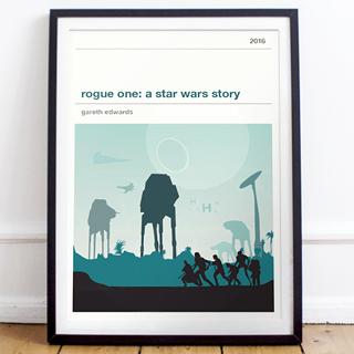 Affiche cinéma - Star Wars (7-8)