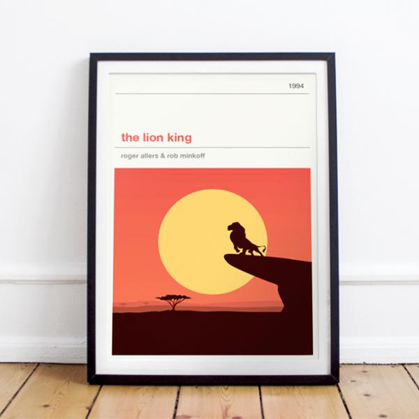 Affiche cinéma - The Lion King