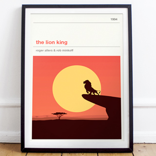 Affiche cinéma - The Lion King