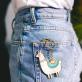 Porte-clés Oversized - Lama