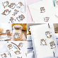 Stickers kawaii - loutres
