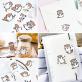 Stickers kawaii - loutres