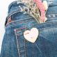 Pin's - Peachy bum