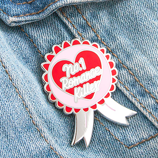Pin's - N°1 romance killer