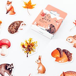 Stickers - dans la forêt