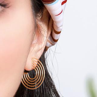 Boucles d'oreilles - Cameroon hoop