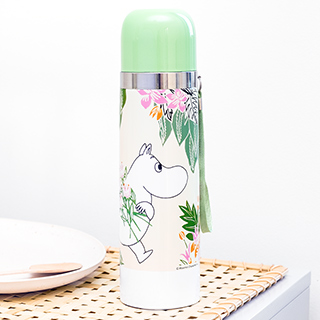 Gourde / thermos - Moomin (floral)