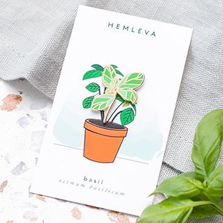 Pin's Hemleva - Basil