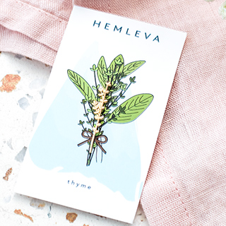 Pin's Hemleva - Thyme