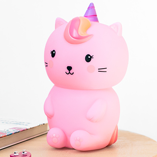 Luna caticorn night light