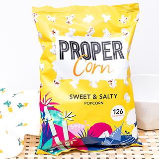 Pop-corn Proper Corn - sucré salé (90g)