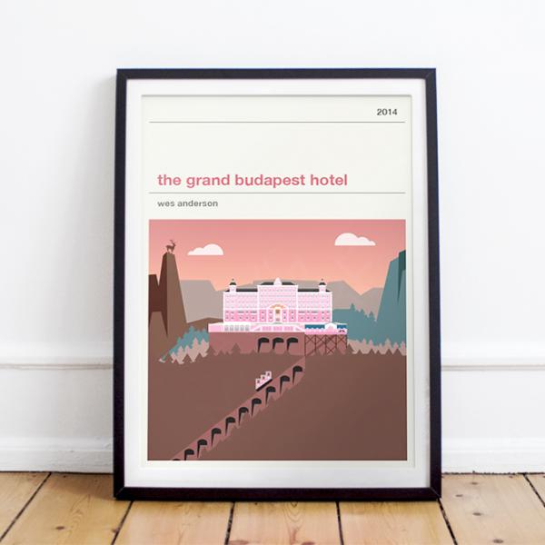 Movie print - The Grand Budapest Hotel