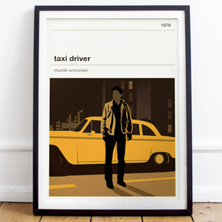 Movie print - Taxi Driver