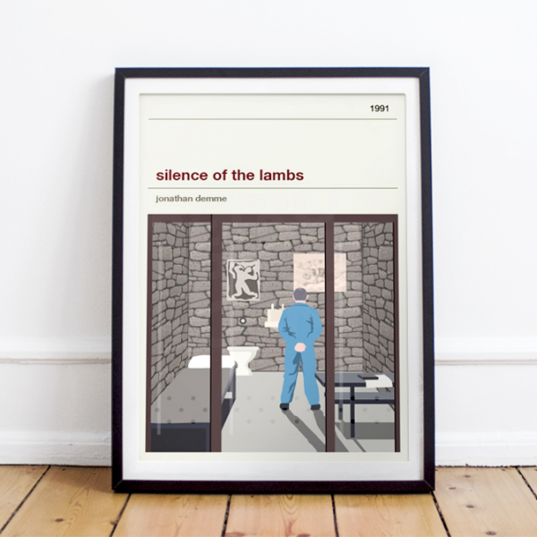 Movie print - The Silence of the Lambs