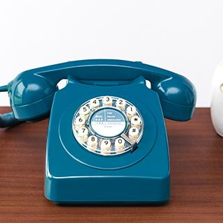 Téléphone rétro 746 - Biscay blue