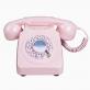 Téléphone rétro 746 - Dusky Pink