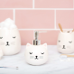 Distributeur de savon - Chat