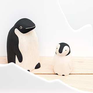 Pole pole family - penguins