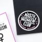 Grand sticker - Nasty women club