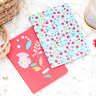 Mini notebooks Mini Labo - Red fruits