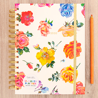 Agenda ban.do - Coming up roses 2019 - 2020 (medium)